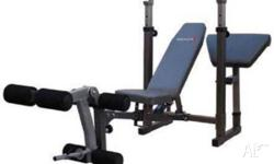**Compact Weight Bench** With Leg and Preacher