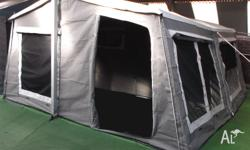 Great sized camper trailer for up to 4 people, which is