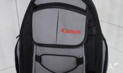 Geniune Canon Backpack from Ted's Cameras. BRAND NEW.
