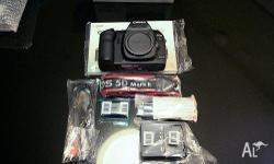 new Canon EOS 5D Mark II Digital SLR Camera with Canon