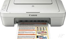 Description This Canon MG2560 printer is a smart option