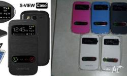 New Slim S-VIEW Flip Case with screen protector &