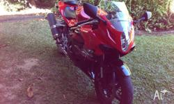 HYOSUNG 2011 GT650R, Lams approved, 4,633kms, Near new