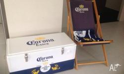 1 x 95L Corona branded Cooler with mounted bottle