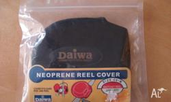 Brand New Daiwa neoprene baitcaster reel cover in