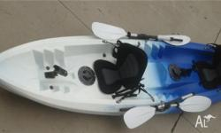 Brand new double kayak package for sale Can be
