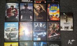 I Have the following DVD's for sale : - Hunger Games :