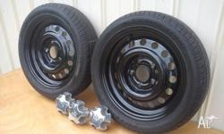 "Brand NEW 15x4"" cop rims PAIR ONLY front runners"