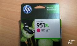 For sale, 4 brand new HP 951XL cartridges, going