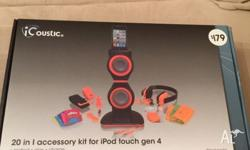 Made for iPods but speaker can be used for iPhone and