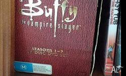 Selling Buffy the Vampire Slayer DVDs seasons 1-7 All