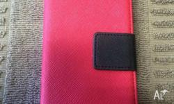 Brand New, iphone 5 - 5s Case Wallet, has Magnetic