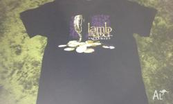 Brand New Without Tags Lamb of God Tshirt Sacrament