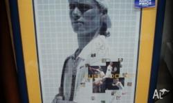 LLEYTON HEWITT - SIGNED PICTURE 70cm x 100cm Must have