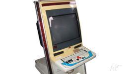 Virtua Striker 2 ver 2000 in Sega Naomi Upright Cabinet On
