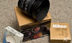 Hi i have an unwanted gift a NIKON 35mm F2 comes with