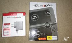New Nintendo 3DS XL Metallic black Unwanted Birthday