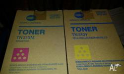 For Sale Konica Minolta Toners-new never used TN-310m