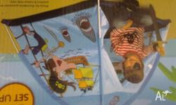 NEW pirate tent indoor or outdoors play unused new in