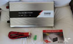 NEW Pure Sine Wave Output 3000w Peak Power Fully