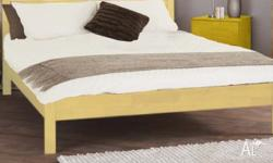 AS NEW QUEEN Bed FRAME + MATTRESS CAN DELIVERY include