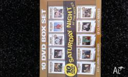 NEW!!! Saturday Night At The Movies - 10 DVD Boxset