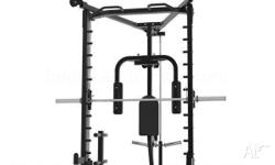 **SMITH MACHINE, LAT & LOW ROW OPTION, PEC DEC OPTION,