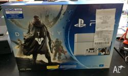 Brand New Sony PS4 in box UNSEALED with warranty. New