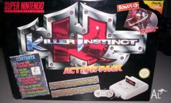 For sale is a brand new Killer Instinct action pack.