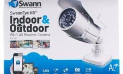 NEW SWANN ADS-460 SwannEye HD Indoor & Outdoor Wi-Fi