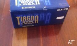 Brand new, never used Shimano Tiagra 50WLRSA Reel