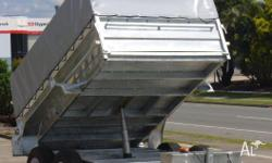 NEW TRAILERS IN BRISBANE 10 X 6 2TN TIPPER 4.5TN 5