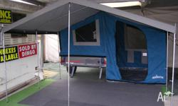 Light weight camper (approximately 310kgs) that can be