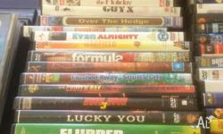 Approx 120 Adults and Childrens DVDs for sale. Some in