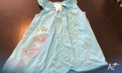 New with tags size 4 blue butterfly dress from target.
