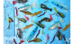20 Mixed Ozking fishing lures. All brand new. This