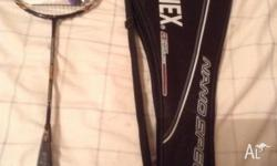 I'm selling my new unused Yonex racquet. Can deliver