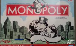 Brand new, sealed in box. New Zealand edition monopoly