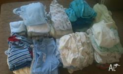 [Newborn 0000 lot] 26 onesies, 6 jumpsuits (Legless) 2
