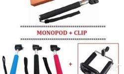 Brand New Monopod selfie stick for smart phone (