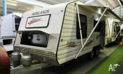 NEWLANDS ZODIAC, Caravan, 18 ft, Tare Weight 1950 kg,