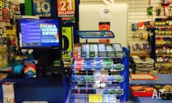 - NSW Lottery, Cigarettes, Drinks, Stationery,