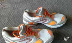 Selling these shoes as they are a size too small. The