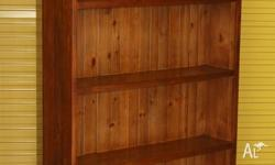 Nice solid baltic pine medium size bookcase,excellent