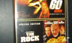 1. 'THE ROCK' 2. 'GONE IN 60 SECONDS' (2) Disc (2)