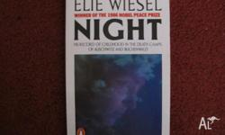 In good condition. NIGHT by elie wiesel Receive10%