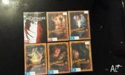 PICKUP ONLY brand new nightmare on elm street dvd's