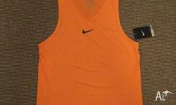 Brand new Nike DriFit Singlet with tag Men's Medium