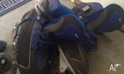 2 pairs of Nike inline skates 1 year old no damages or