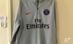 NIKE PSG DRI-FIT SQUAD DRILL FOOTBALL TOP NEW WITHOUT